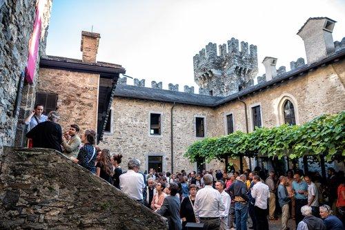 Inaugurazione della mostra Il patrimonio si racconta nella corte del castello
