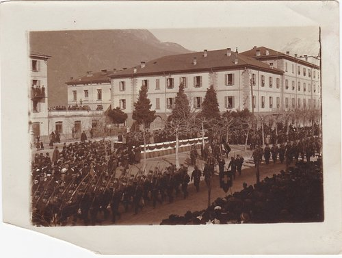 1918 Sfilata militare