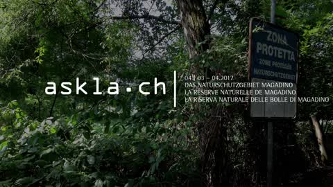 Progetto Askla: la riserva naturale delle Bolle di Magadino