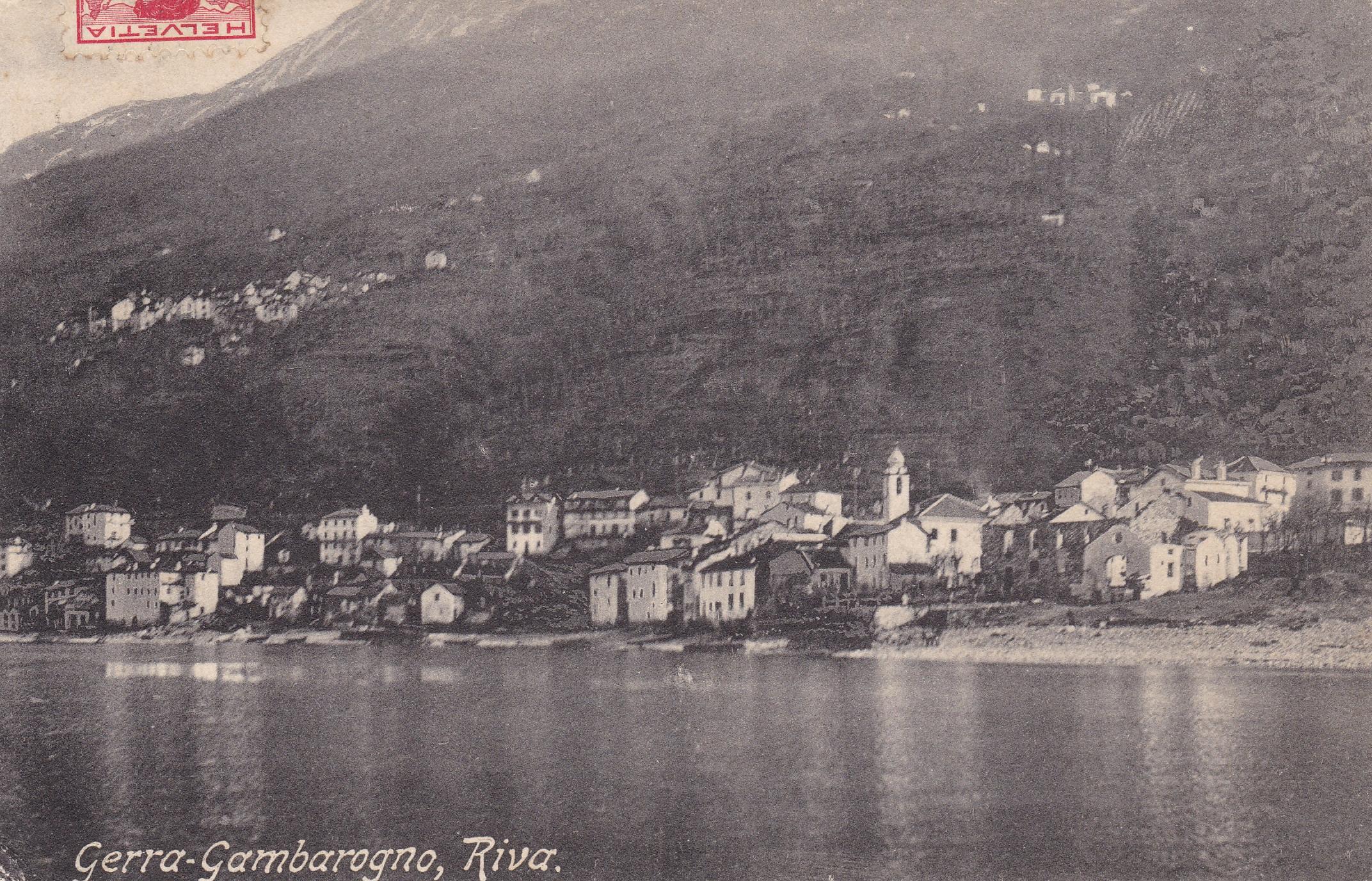 Gerra Gambarogno inizio secolo