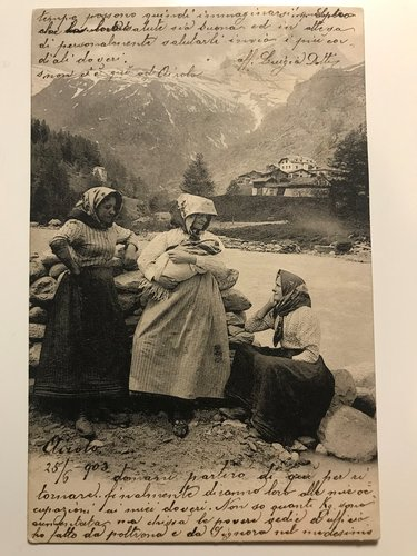 Zermatt (scritta e spedita da Airolo)