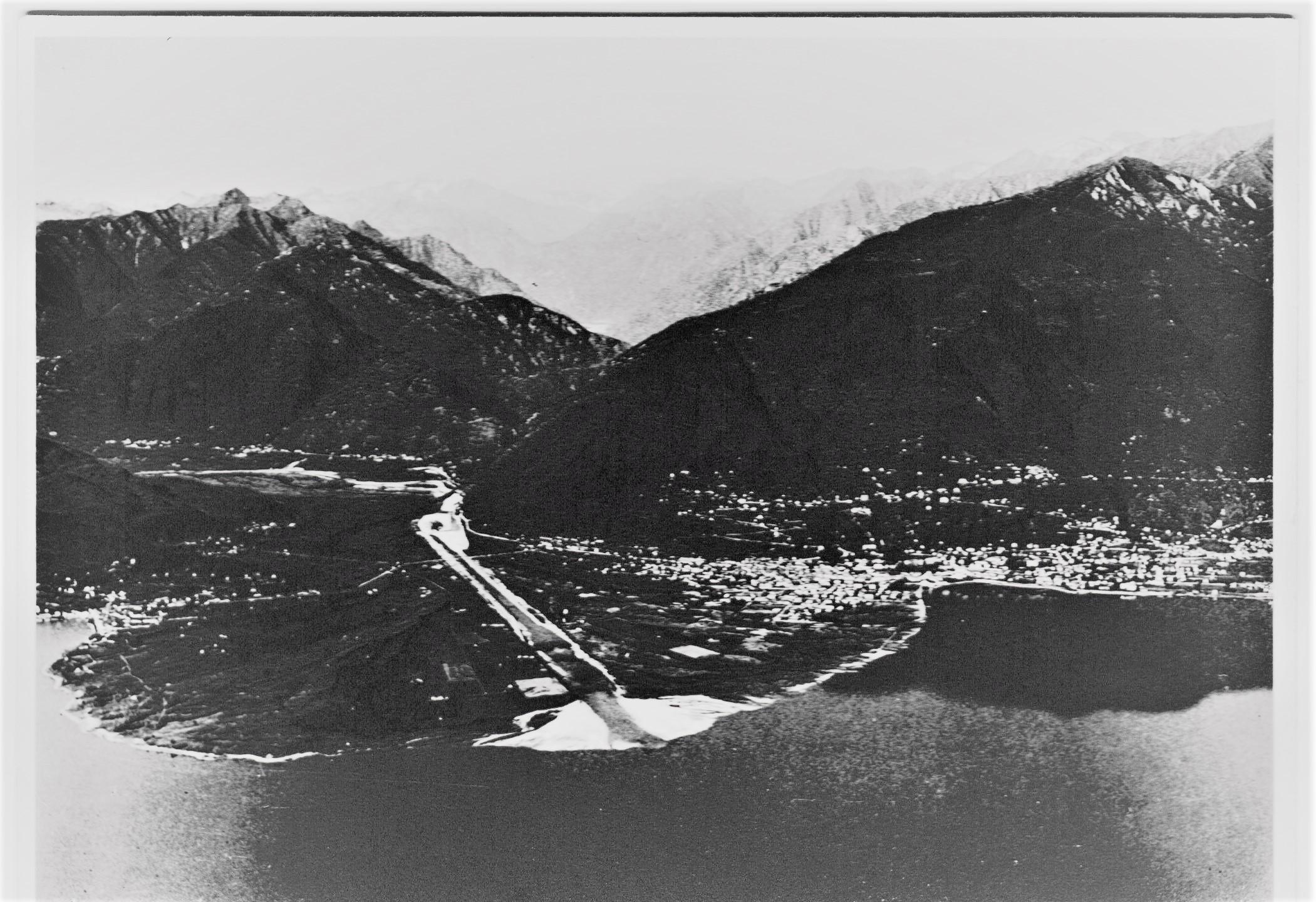 Il delta della Maggia con Ascona e Locarno