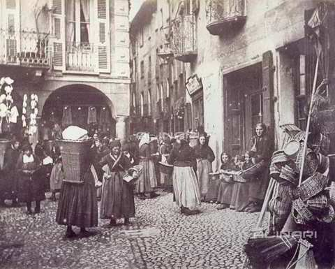 Il mercato di Lugano