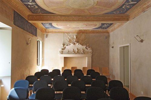 La sala di Casa Cantoni
