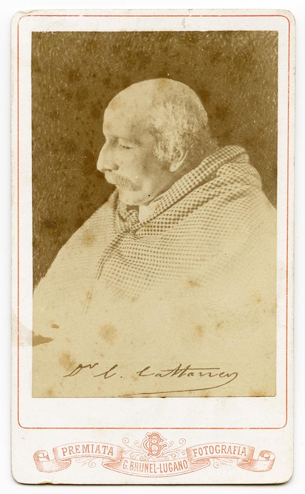 Carlo Cattaneo morente