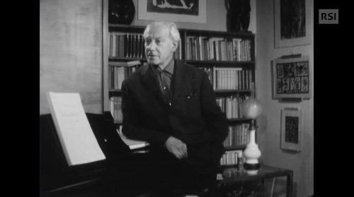 Incontro con il compositore Wladimir Vogel