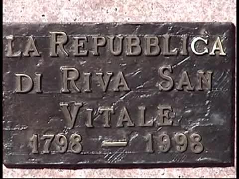 La Repubblica di Riva S.Vitale: commemorazione per il 200°