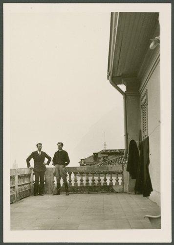 Due fascisti alla Casa Nera di Lugano