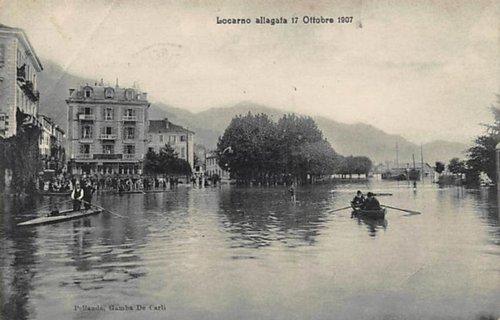 Locarno, esondazione 1907