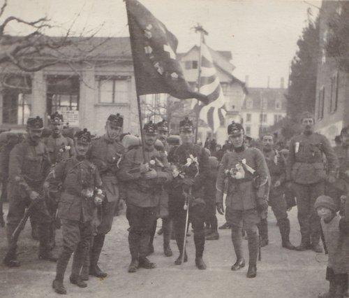 Militare dal 1914 al 1918