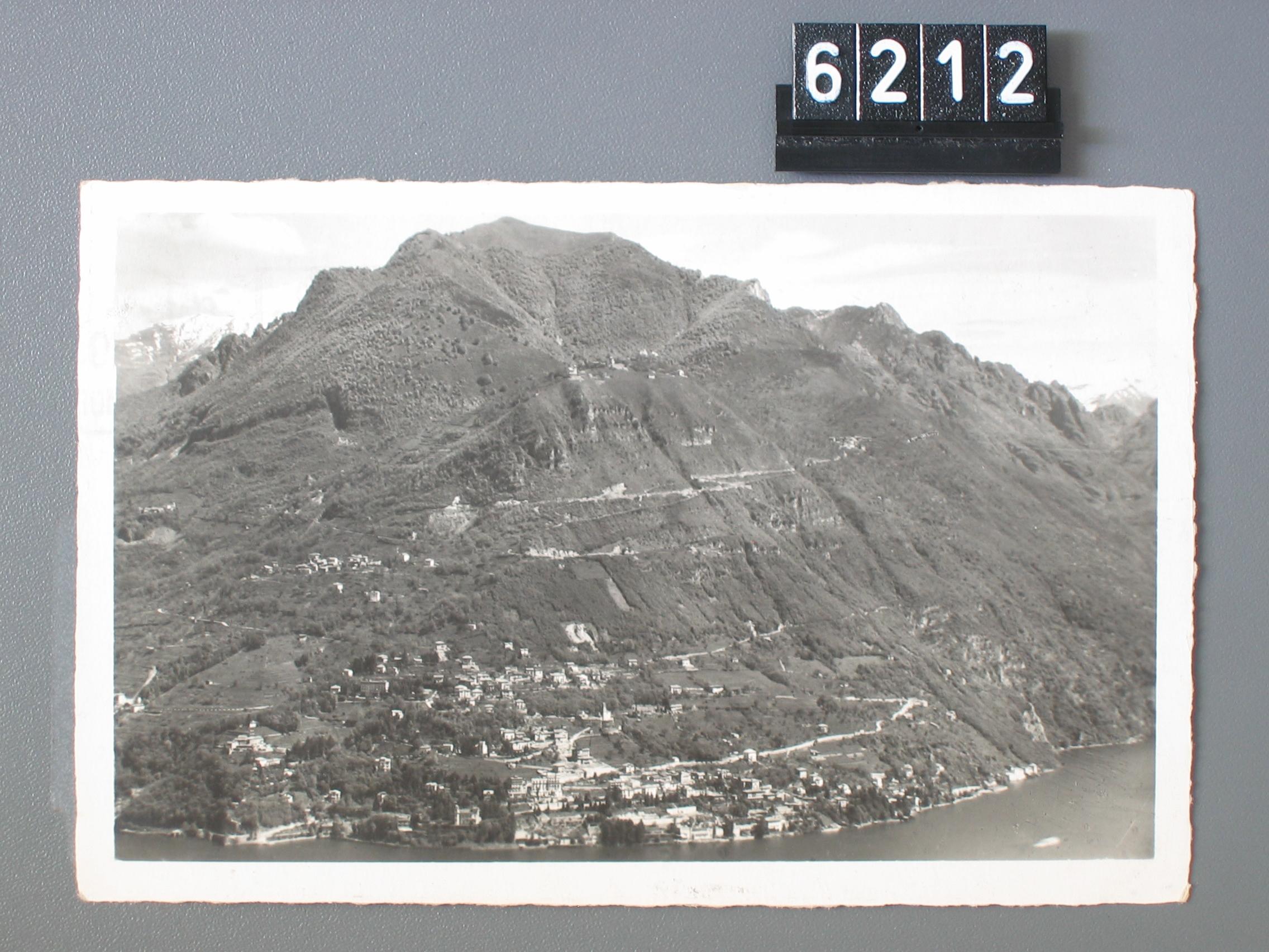 Il tracciato della corsa internazionale Lugano-Monte Brè
