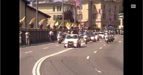Preparativi per la visita del Papa a Lugano