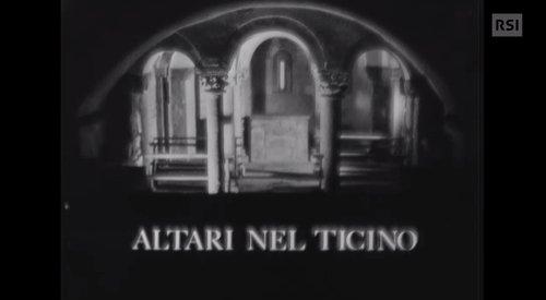 Gli altari più belli delle chiese ticinesi