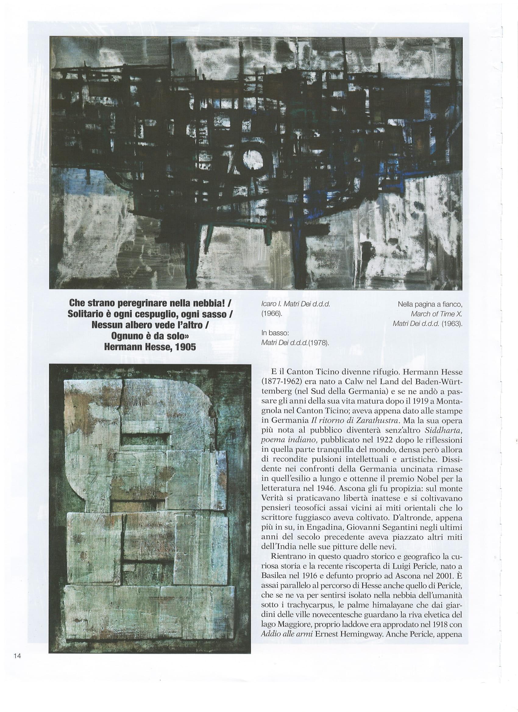 All'ombra di Monte Verità, 2a pagina