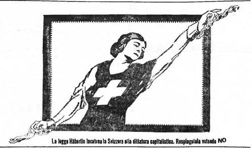 """Una Svizzera moderna e """"donna"""" contro una legge liberticida nel 1922"""