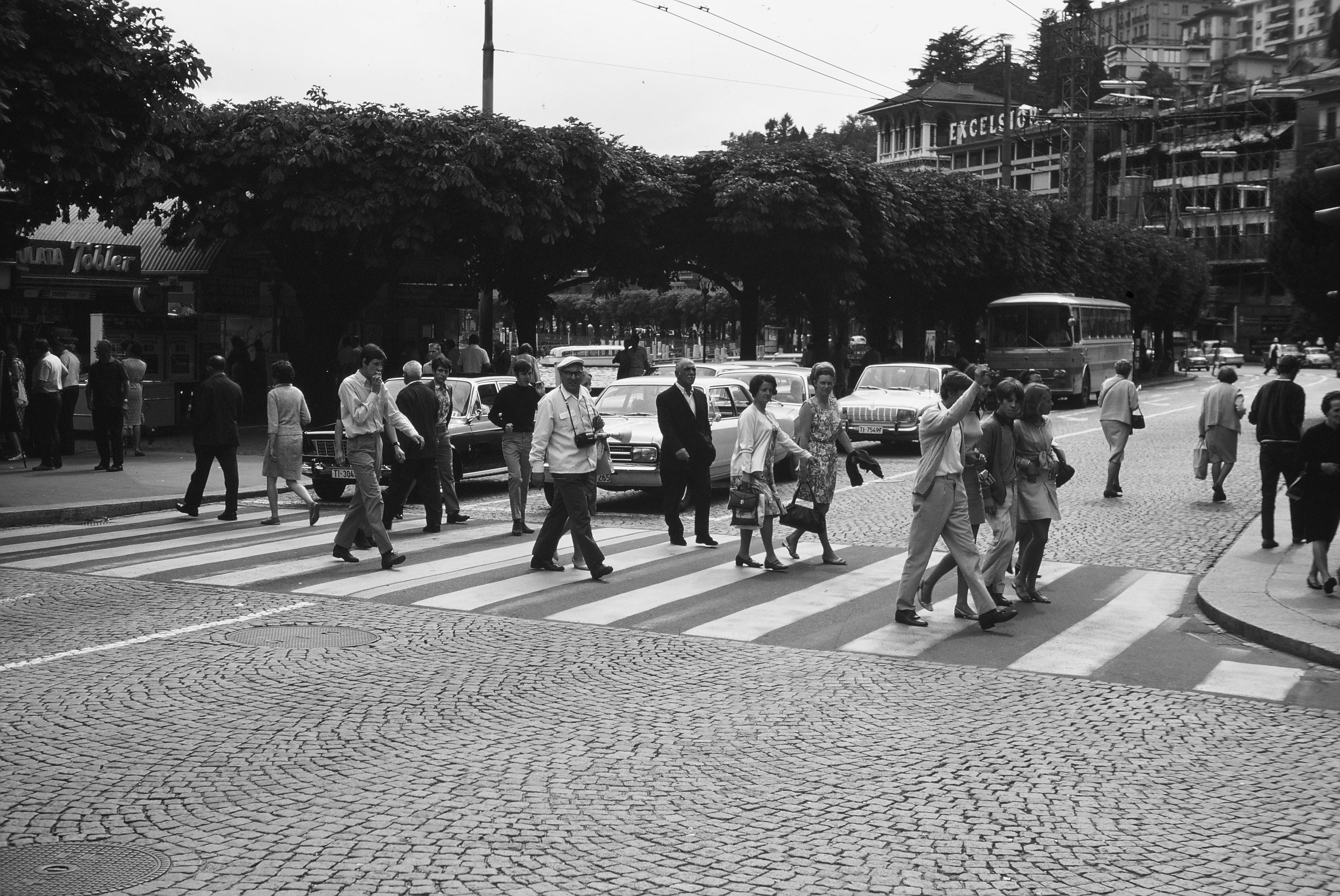 Traffico a Lugano!