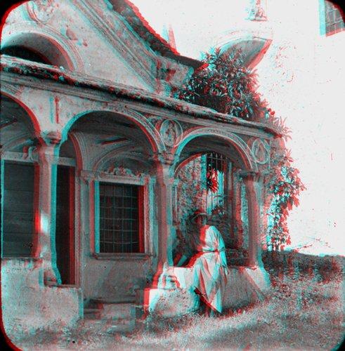 Cappella della Cà di Ferro, Stereo Anaglifo