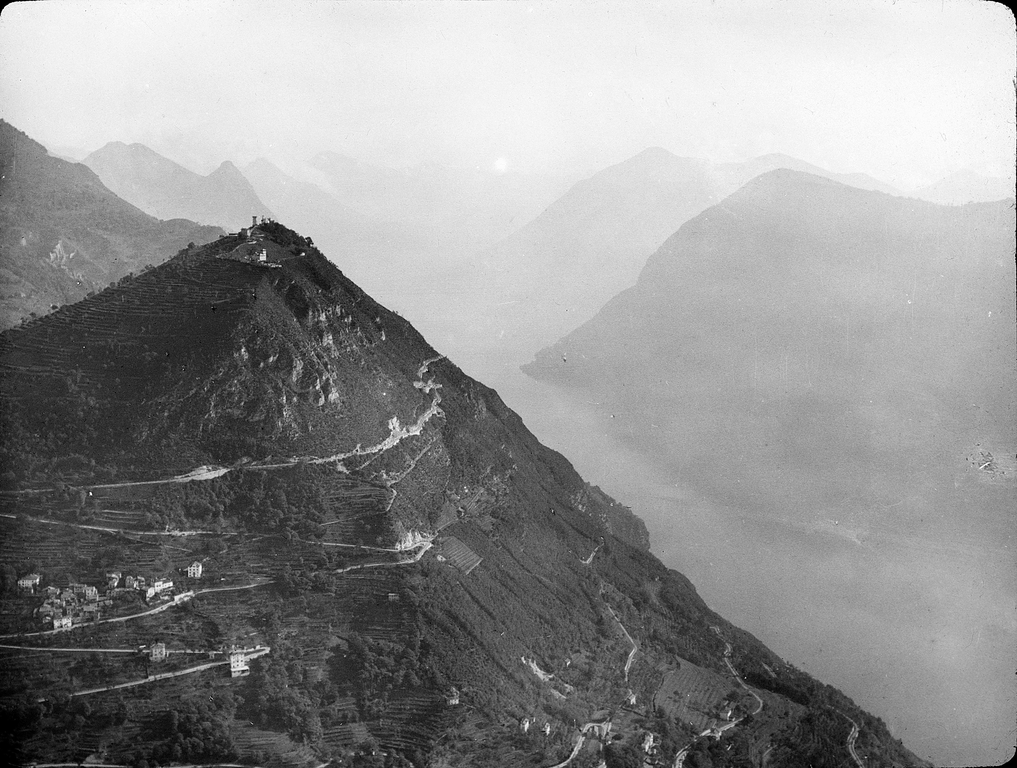 Il Monte Brè quando correva «Ul Pepèna»