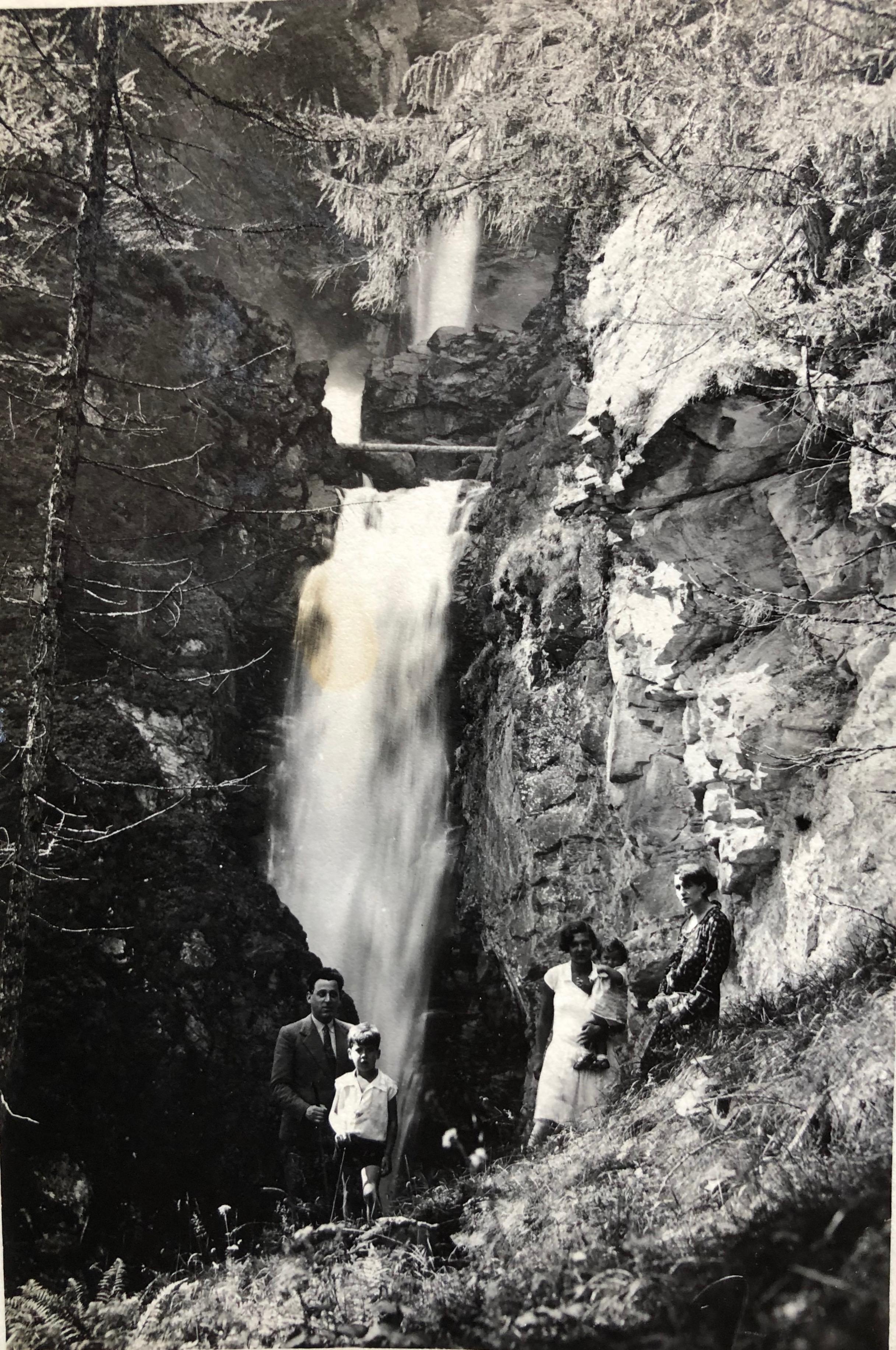 La cascata Piumogna