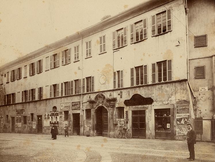Il vecchio liceo di Lugano