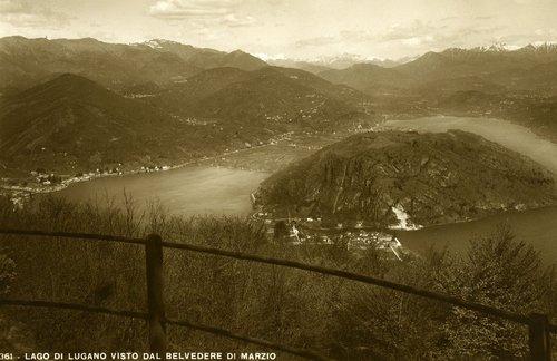 Panorama del Lago di Lugano
