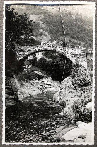 Ponte dei salti Lavertezzo 1930 ca
