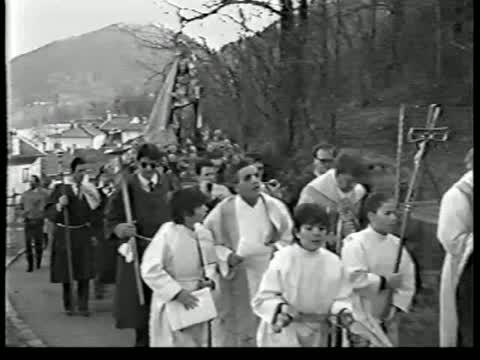 Mezzovico: la festa della Madonna del Rosario  1984