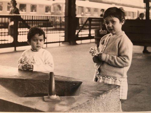 Chiasso stazione 1963