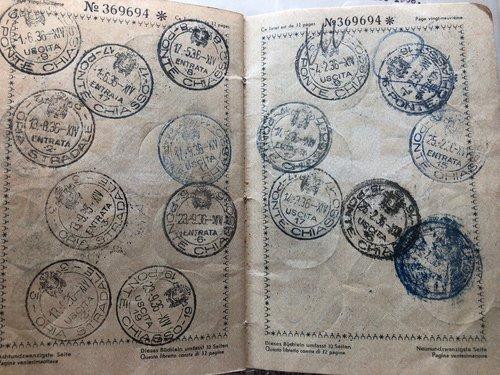 Passaporto 1930