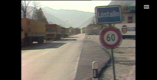 Lo sfregio autostradale di Roveredo GR