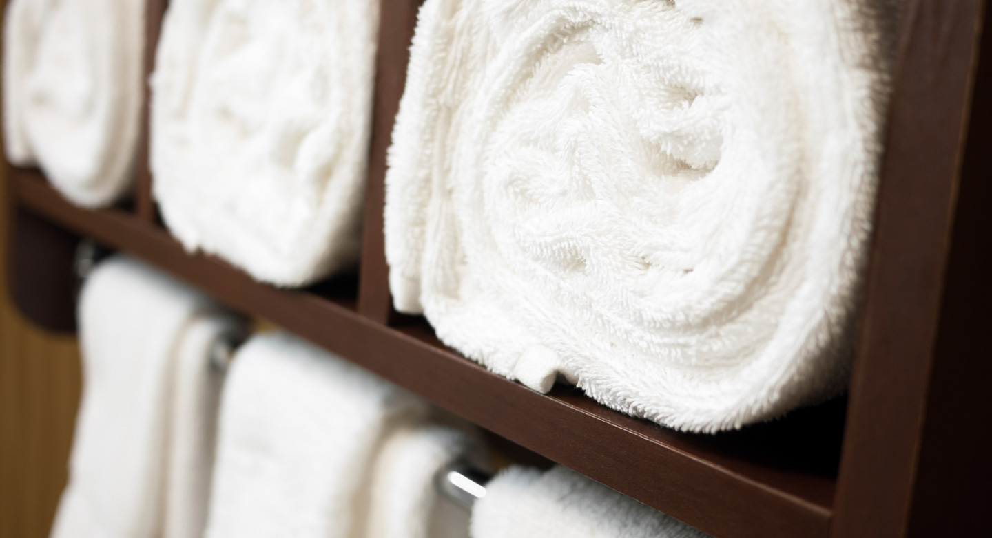 Whether you want the sand out of your beach towel or the fluffiness back in your bath towel, we're happy to help.
