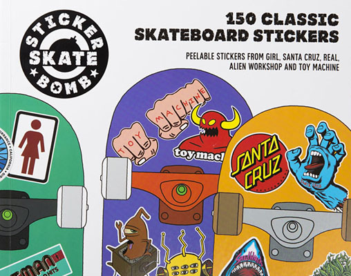 Stickerbomb Skate - Product Thumbnail
