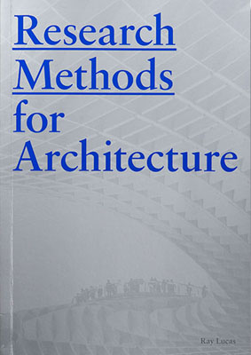 Research Methods for Architecture - Product Thumbnail