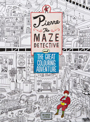 Pierre the Maze Detective and The Great Colouring Adventure - Product Thumbnail