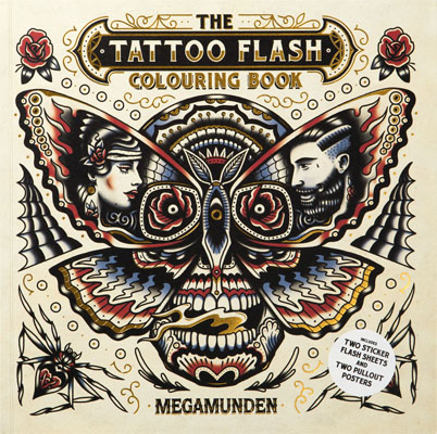 The Tattoo Flash Colouring Book - Product Thumbnail