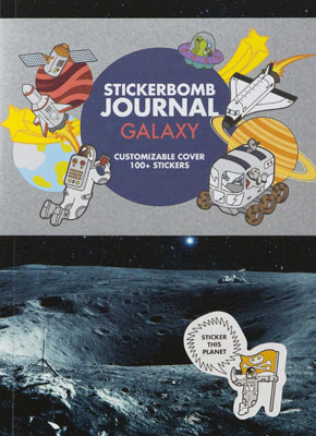 Stickerbomb Journal Galaxy - Product Thumbnail