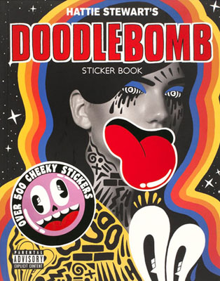 Hattie Stewart's Doodlebomb Sticker Book - Product Thumbnail