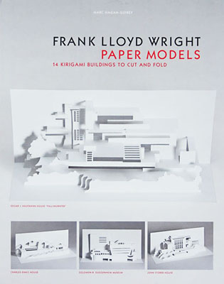 Frank Lloyd Wright Paper Models: 14 Kirigami Buildings to Cut and Fold - Product Thumbnail