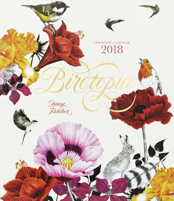 Birdtopia 2018 Colouring Calendar - Product Thumbnail