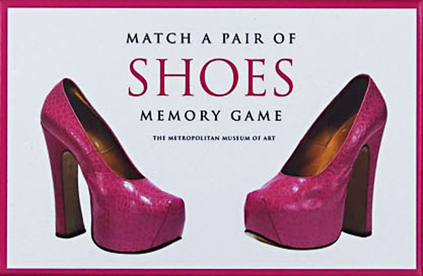 Match a Pair of Shoes Memory Game - Product Thumbnail