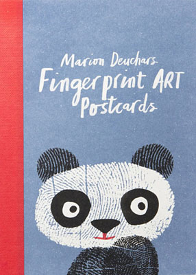 Fingerprint Art Postcards - Product Thumbnail
