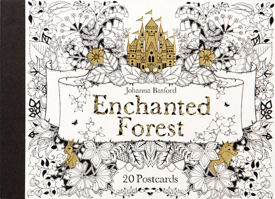 Enchanted Forest: 20 Postcards - Product Thumbnail