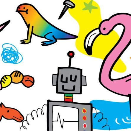 How to Draw: Jon Burgerman - Blog Image