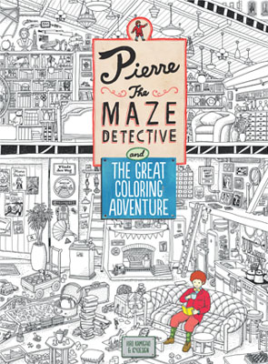 Pierre the Maze Detective and The Great Coloring Adventure - Product Thumbnail