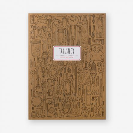 Toolshed Colouring Book