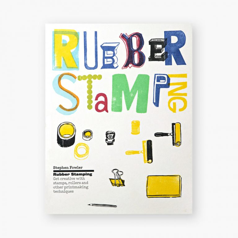 Try rubber stamping