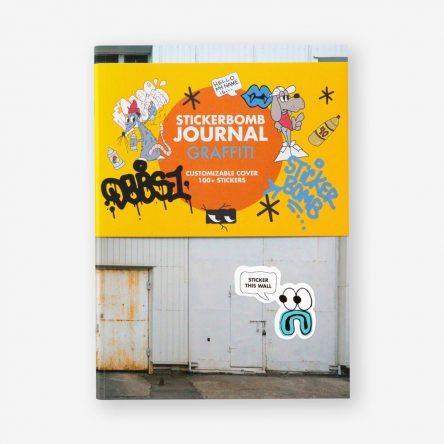 Stickerbomb Journal Graffiti
