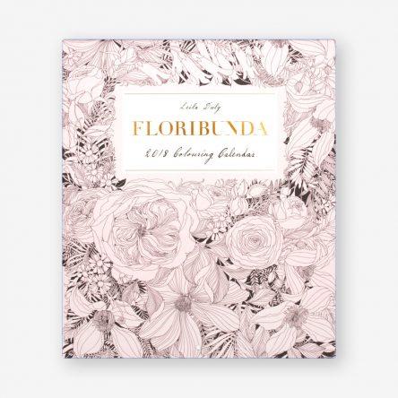 Floribunda 2018 Colouring Calendar