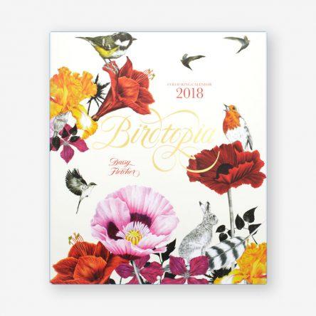 Birdtopia 2018 Colouring Calendar