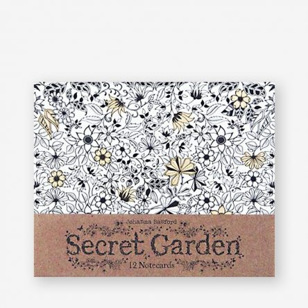 Secret Garden: 12 Notecards